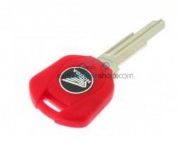 Honda Motorbike Key - Red - Key blade HON58R - after market product